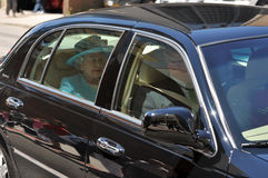 Queen Elizabeth II in Ottawa Stock Photo