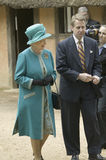 Queen Elizabeth II and Phil Emerson Stock Image