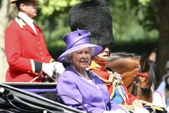 Queen Elizabeth II and Prince Philip Stock Photos