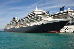 Queen Elizabeth liner Stock Photography