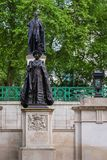 Queen Elizabeth Monument at the Mall Road, London UK. Queen Elizabeth Monument at the Mall Road in London UK Stock Photography