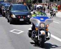 Queen Elizabeth motorcade Royalty Free Stock Image