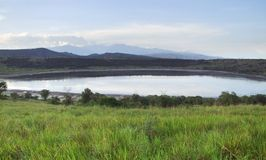 Queen Elizabeth National Park in Africa Stock Images