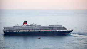 Queen Elizabeth ocean liner in Yalta, Ukraine Royalty Free Stock Photo