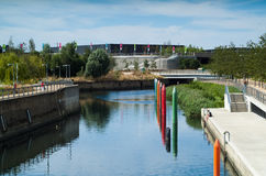 Queen Elizabeth Olympic Park Royalty Free Stock Image
