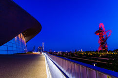 Queen Elizabeth Olympic Park Royalty Free Stock Photography