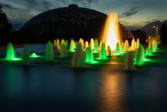 Queen Elizabeth Park Night Royalty Free Stock Photography