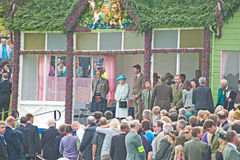 Queen Elizabeth and Prince Philip. Royalty Free Stock Photos