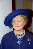 Queen Elizabeth,  the Queen mother. Stock Image