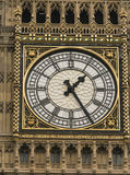 Queen Elizabeth Tower Big Ben London at Houses of Parliament Royalty Free Stock Photo