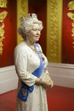 Queen elizabeth wax figure Stock Photography