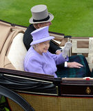 Queen of England Stock Photography