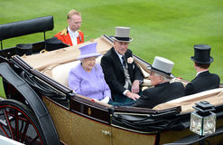 Queen of England stock images