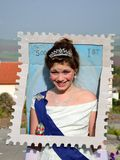 Queen of England stamp Royalty Free Stock Photography
