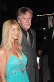Queen,Gary Busey. Actor GARY BUSEY & date at the Los Angeles premiere of The Queen. October 3, 2006  Los Angeles, CA Picture: Paul Smith / Featureflash Royalty Free Stock Photos