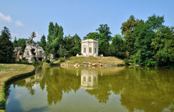Queen Hamlet  in the park of Versailles Palace Royalty Free Stock Photo