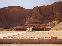 Queen Hatshepsut's Temple in Egypt Royalty Free Stock Images