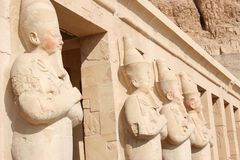 Queen Hatshepsut's Mortuary Temple Royalty Free Stock Photos