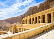 Queen Hatshepsut Temple, Luxor, Egypt Stock Image