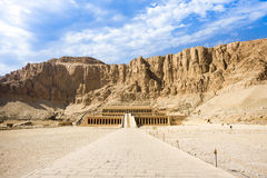 Queen Hatshepsut Temple, Luxor, Egypt Royalty Free Stock Images