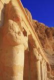 Queen Hatshepsuts temple. Hatshepsut temple at Luxor, Egypt Royalty Free Stock Images