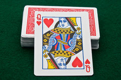 Queen of Hearts Stock Photos