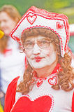 Queen of hearts. Stock Image
