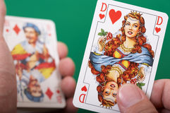 Queen of Hearts Royalty Free Stock Photos