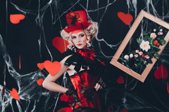 Queen of Hearts Stock Images