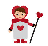 Queen of Hearts Guard from Wonderland story. Stock Image