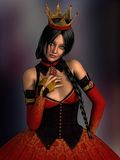 Queen of hearts Stock Photography