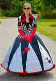 The Queen of Hearts Stock Photo