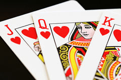 Queen of Hearts Stock Image