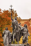 Queen Isabella Statue Marching into Granada 1492 Madrid Spain Royalty Free Stock Image