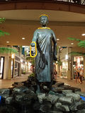 Queen Kaahumanu Statue in Mall Royalty Free Stock Photos