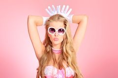 Queen lady Royalty Free Stock Images