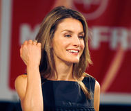 Queen Letizia Royalty Free Stock Images