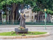 Queen Lili`uokalani Statue Stock Photography