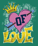 Queen of Love Stock Images