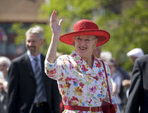 Queen Margrethe the 2nd Stock Photography
