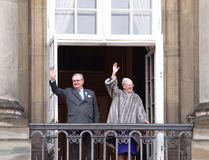 Queen Margrethe of Denmark royalty free stock photography
