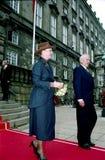 QUEEN MARGRETHE OF DENMARK Royalty Free Stock Image