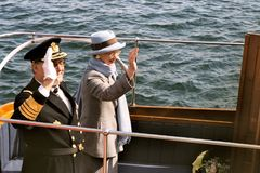 QUEEN MARGRETHE II AND PRINCE HENRIK OF DENMARK Royalty Free Stock Photo