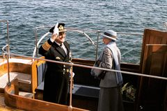 QUEEN MARGRETHE II AND PRINCE HENRIK OF DENMARK Stock Image