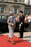 QUEEN MARGRETHE II AND PRINCE HENRIK OF DENMARK Stock Photo
