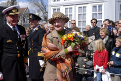 QUEEN MARGRETHE II AND PRINCE HENRIK Stock Photo