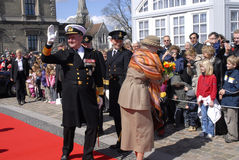 QUEEN MARGRETHE II AND PRINCE HENRIK Stock Photos