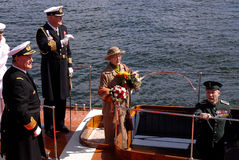 QUEEN MARGRETHE II AND PRINCE HENRIK Stock Images