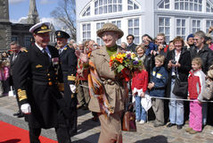 QUEEN MARGRETHE II AND PRINCE HENRIK Royalty Free Stock Image