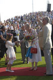 QUEEN MARGRETHE AND PRINCE HENRIK Royalty Free Stock Image